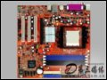 富士康 6100K8MA-RS 主板