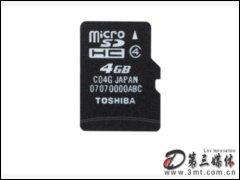 �|芝microSDHC(4GB)�W存卡