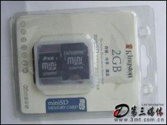 金士�DMiniSD卡(2G)�W存卡