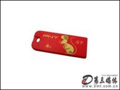 PNY威�P鼠年限量版 4G�W存卡