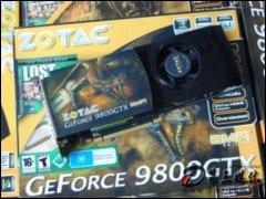 索泰N9800GTX-512D3 AMP�@卡