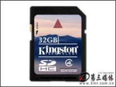 金士�D32GB SDHC�W存卡