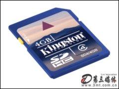 金士�DClass4 SDHC(4G)�W存卡