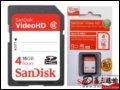 [大�D5]SanDiskVideo HD(4G)�W存卡