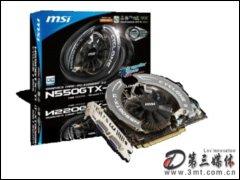微星N550GTX-Ti Cyclone II 1GD5显卡