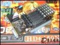 铭鑫图能剑HD6450N-1GBD3鑫镭版显卡