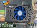 [大�D1]�鑫�界�LGTX650N -1GBD5 G�l版�@卡